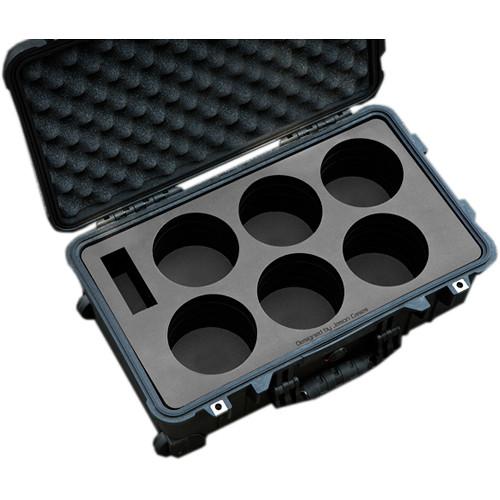 Jason Cases Protective Case for Rokinon Xeen 6-Lens Bundle (Compact)