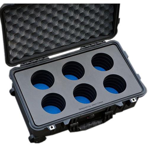Jason Cases Protective 6-Lens Case for Schneider Xenon FF (Compact)