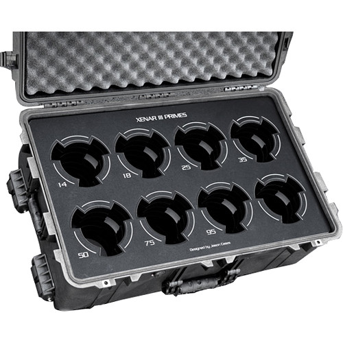 Jason Cases 8-Lens Case for Schneider Xenar III (Black Overlay)