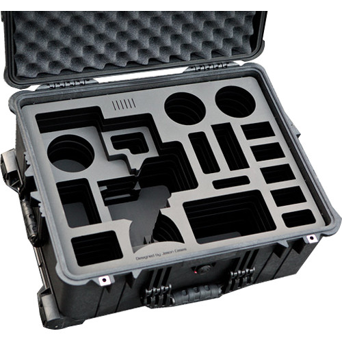 Jason Cases Hard Case with Custom Foam for Sony FS5 Camcorder