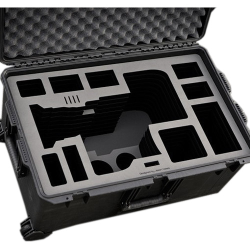 Jason Cases Wheeled Case for Sony FS7 with 28–135mm Lens, Back Module, & Bottomplate
