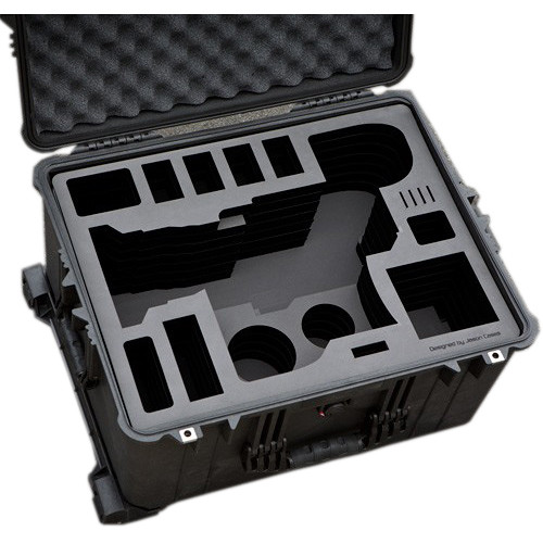 Jason Cases Hard Rolling Case for Sony FS7 Camera and Lens with Bottomplate