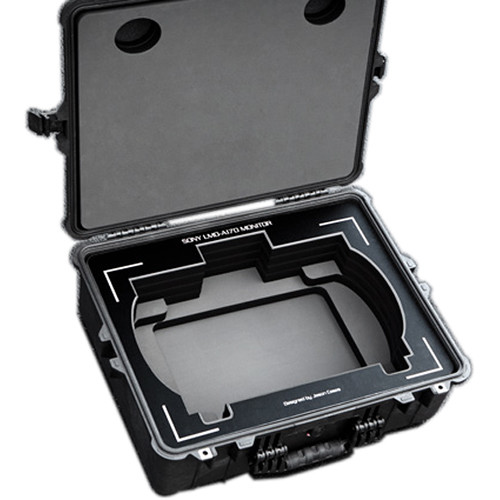 Jason Cases Sony LMD-a170 Monitor Case with Black Overlay
