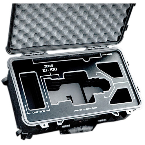 Jason Cases Zeiss LWZ.3 21-100mm Lens Case with Black Overlay