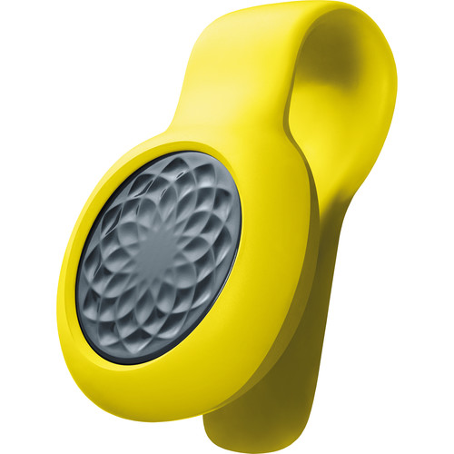 Image of Jawbone UP MOVE Activity Tracker (Slate Rose with Yellow Clip)