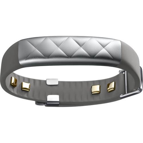 Jawbone UP4 Fitness Tracker and Heart Rate Monitor (Silver Cross)