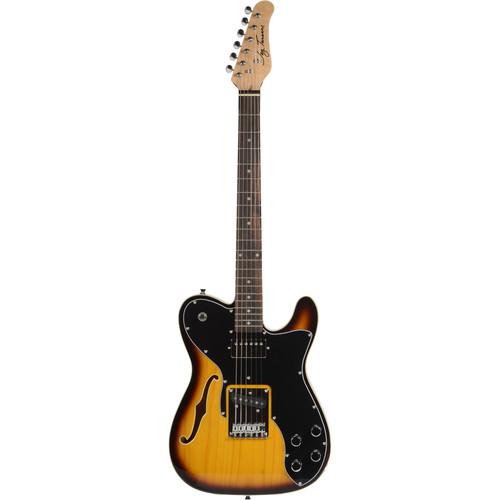 Jay Turser JT-LTCUSTOM69 LT Series Electric Guitar (Tobacco Sunburst)
