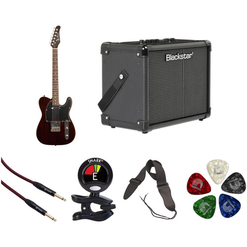 Jay Turser JT-LT-RW LT Series Electric Guitar & Amp Starter Kit (Rosewood)