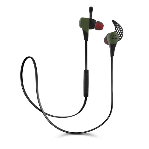 JayBird X2 Sport In-Ear Headphones with Bluetooth (Alpha Green)