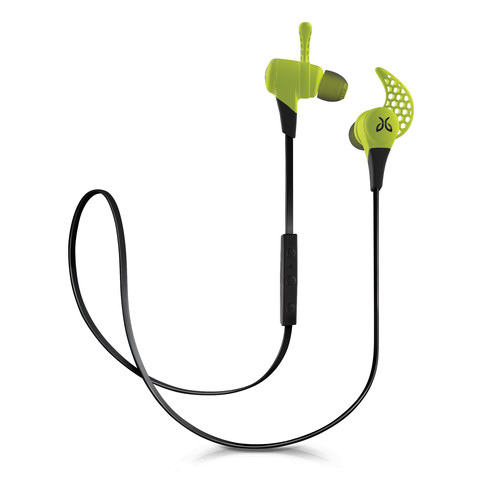 JayBird X2 Sport In-Ear Headphones with Bluetooth (Charge Green)