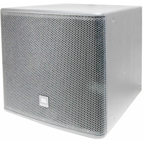 "JBL AC118S 18"" High-Power Subwoofer System (White)"