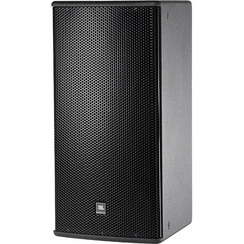 "JBL AM5212/66 2-Way Loudspeaker System with 1 x 12 "" LF Speaker (Black)"