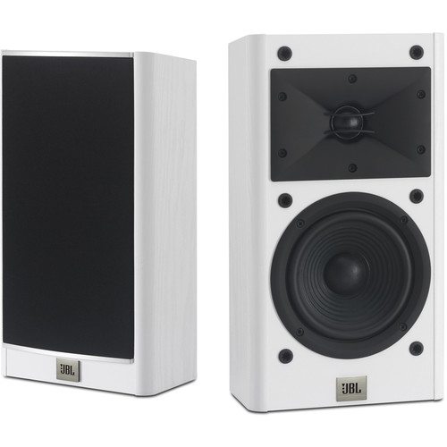 "JBL Arena 120 5.5"" 2-Way Passive Bookshelf Loudspeakers (White, Pair)"