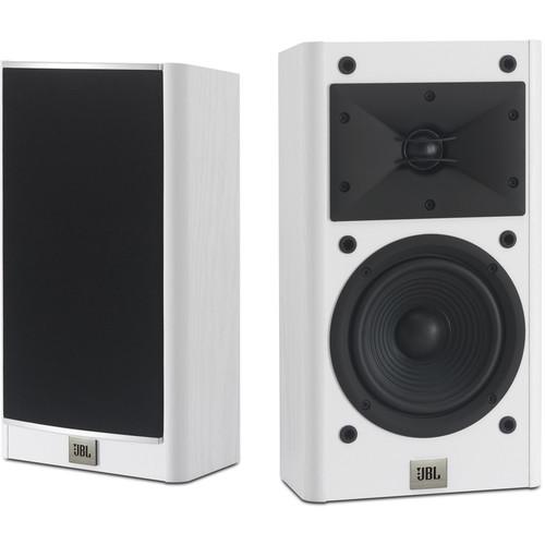 """JBL Arena 120 5.5"""" 2-Way Passive Bookshelf Loudspeakers (White, Pair)"""