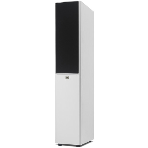 "JBL Arena 180 7"" 2-Way Dual Passive Floor-Standing Loudspeaker (White, Single)"