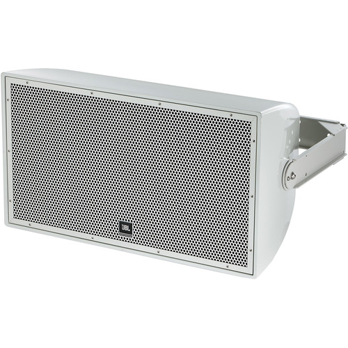 """JBL AW266 High Power 2-Way All-Weather Loudspeaker with 12"""" LF (Gray)"""