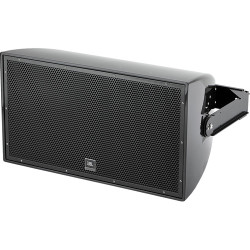 "JBL AW295 High Power 2-Way All-Weather Loudspeaker with 12"" LF and Rotatable Horn (Black)"