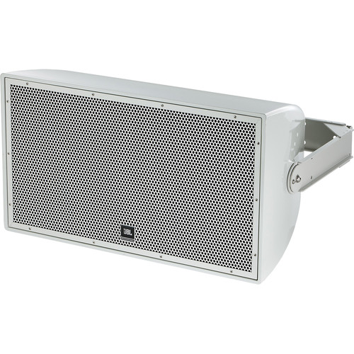 "JBL AW295 High Power 2-Way All-Weather Loudspeaker with 12"" LF and Rotatable Horn (Gray)"