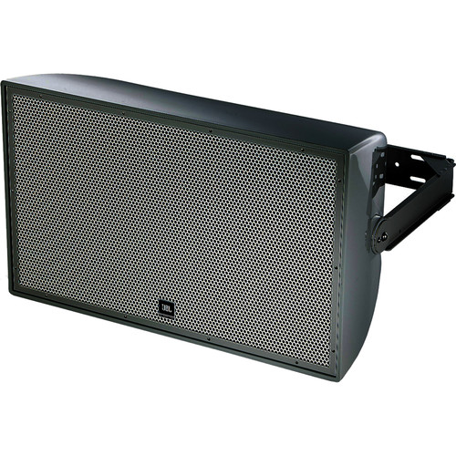 """JBL AW566 High Power 2-Way All-Weather Loudspeaker with 15"""" LF and Rotatable Horn (Black)"""