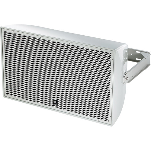 """JBL AW566 High Power 2-Way All-Weather Loudspeaker with 15"""" LF and Rotatable Horn (Gray)"""