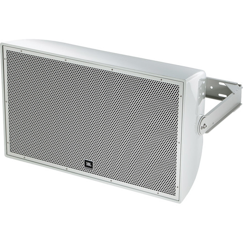 "JBL AW595 High Power 2-Way All-Weather Loudspeaker with 15"" LF and Rotatable Horn (Gray)"