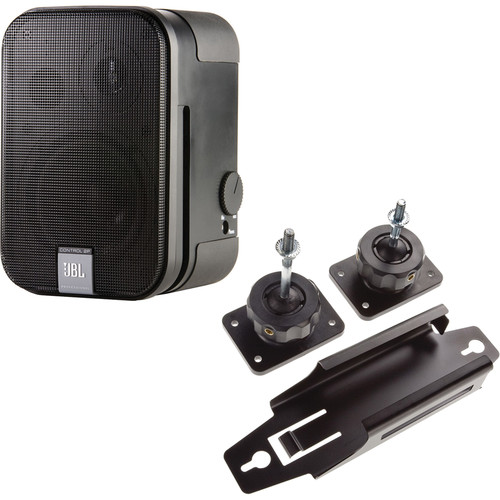 JBL Control 2P Powered Speaker with Mount Kit