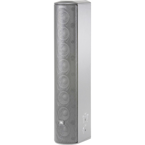 """JBL Constant Beamwidth Technology CBT 50LA-LS Line Array Column Loudspeaker with Eight 2"""" Drivers (White)"""