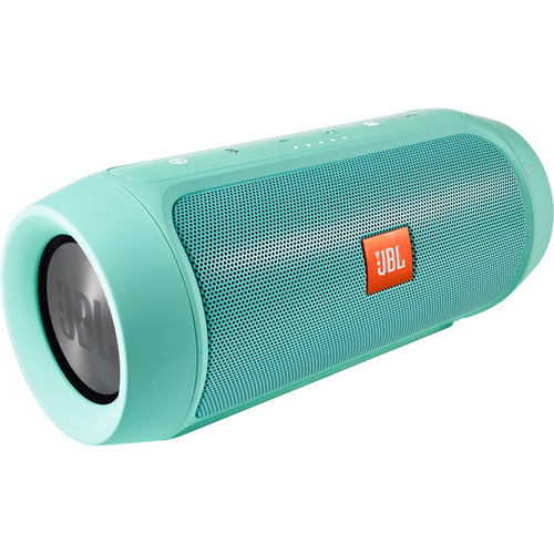 JBL Charge 2+ Portable Stereo Speaker (Teal) CHARGE2PLUSTEALAM
