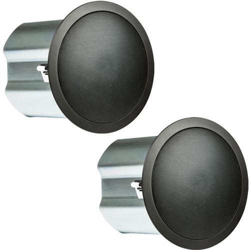 "JBL Control 16C/T 2-Way 6.5"" Coaxial Ceiling Loudspeakers (Pair, Black)"