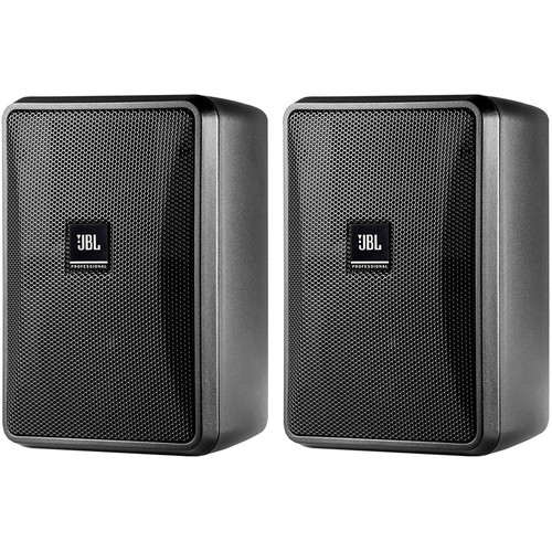 JBL Control 23-1 Ultra-Compact Indoor/Outdoor Background/Foreground Speaker (Pair, Black)