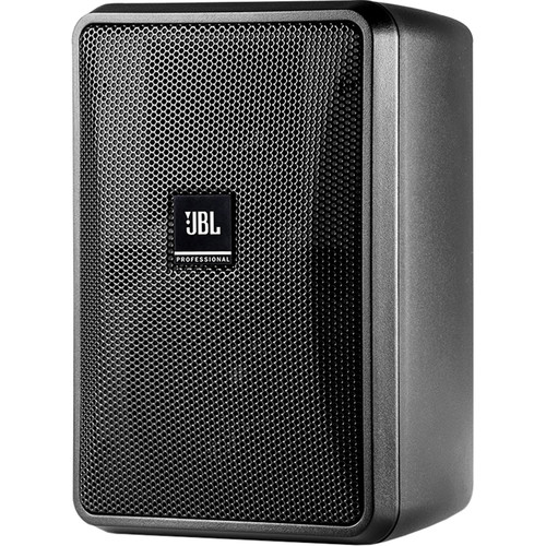 "JBL Control 23-1L 3"" Ultra-Compact 8-Ohm 2-Way Indoor/Outdoor Speaker (Pair, Black)"