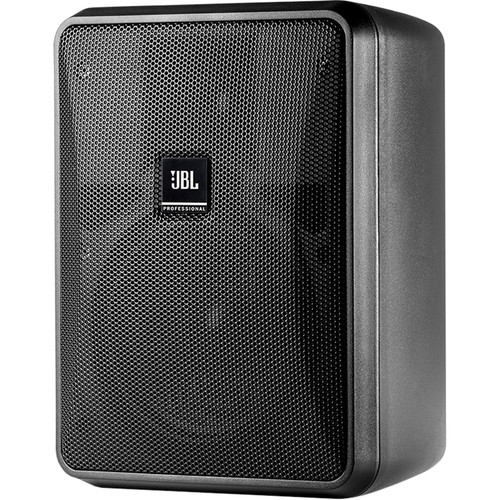 "JBL Control 25-1L 5.25"" Compact 8-Ohm 2-Way Indoor/Outdoor Speaker (Pair, Black)"