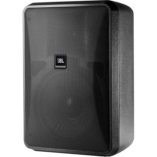 "JBL Control 28-1L 8"" High-Output 8-Ohm 2-Way Indoor/Outdoor Speaker (Pair, Black)"