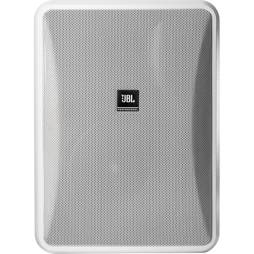 "JBL Control 28-1L 8"" High-Output 8-Ohm 2-Way Indoor/Outdoor Speaker (Pair, White)"