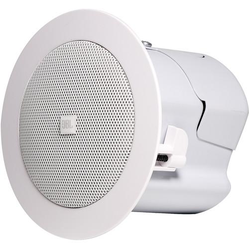 JBL Control 42C Compact In-Ceiling Satellite Loudspeaker (Pair, White)