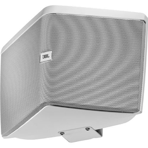 "JBL Wide-Coverage Speaker with 5 1/4"" LF, Dual Tweeters, and HST Technology (White)"