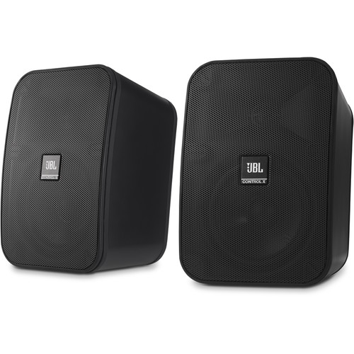 JBL Control X All-Weather Indoor/Outdoor Speakers (Pair, Black)