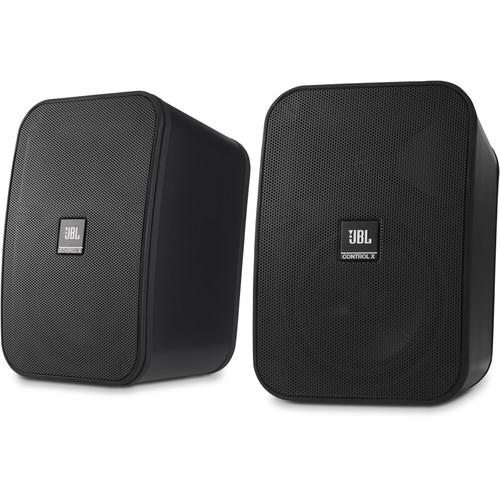 JBL Control X All-Weather Indoor/Outdoor Speakers (Pair, Black)