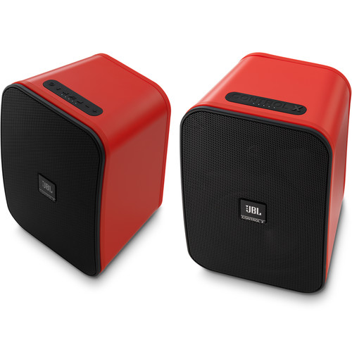 JBL Control X Bluetooth Wireless Speakers (Red)