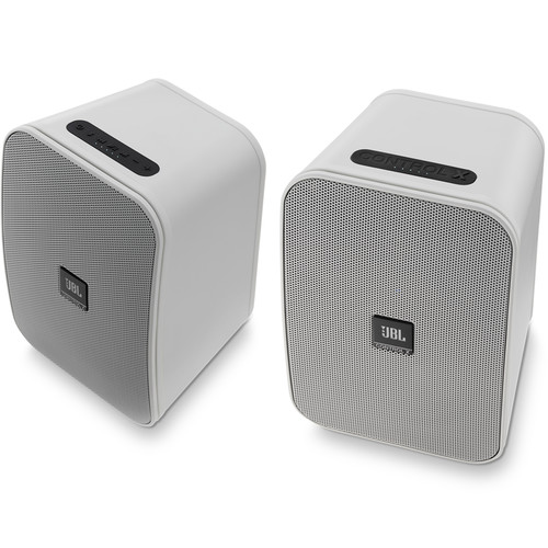 JBL Control X Bluetooth Wireless Speakers (White)