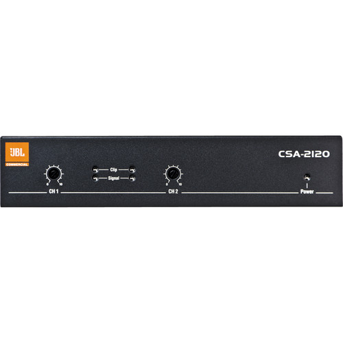 JBL CSA2120 2-Channel Installed Sound Power Amplifier