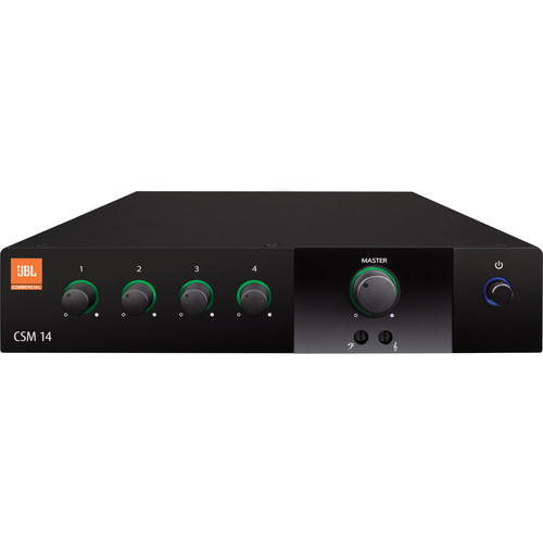 JBL CSM 14 - Four Inputs/One Output Commercial Series Mixer
