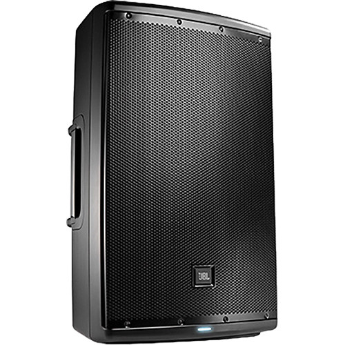 "JBL Dual EON615 15"" 2-Way Powered Speakers & dbx DriveRack PA2 Speaker Management System"