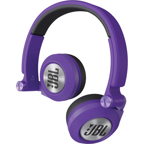 JBL Synchros E30 - On-Ear Headphones (Purple)