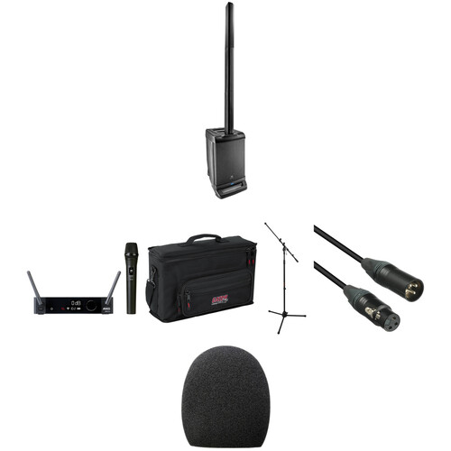 JBL Go Mobile Portable PA Kit with EON One, Wireless Mic, and Accessories