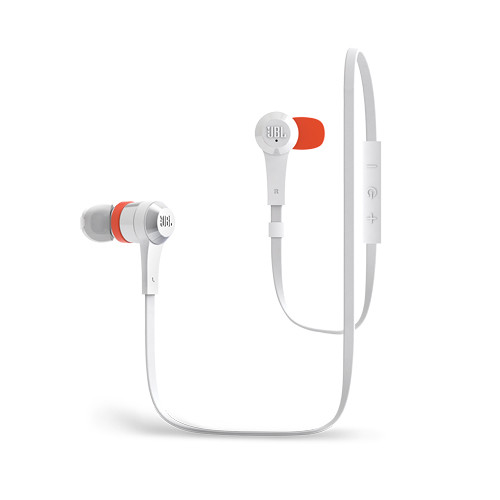 JBL J46BT In-Ear Bluetooth Wireless Headphones (White)