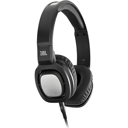 JBL J55i On-Ear Headphones (Black)