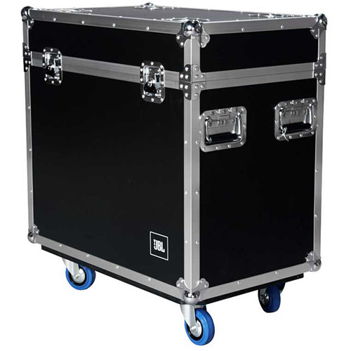 JBL EON Flight Case with Blue Wheels for Two EON615 Speakers
