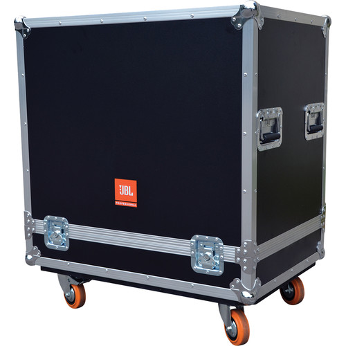 JBL PRX Flight Case with Orange Wheels for the PRX718XLF Subwoofer