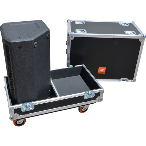 JBL BAGS PRX Flight Case with Orange Wheels for Two PRX812W Speakers